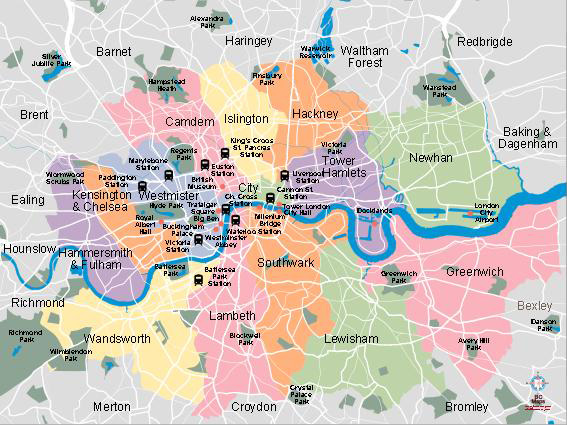 London Vector City Maps Eps Illustrator Freehand Corel Draw - London map with cities