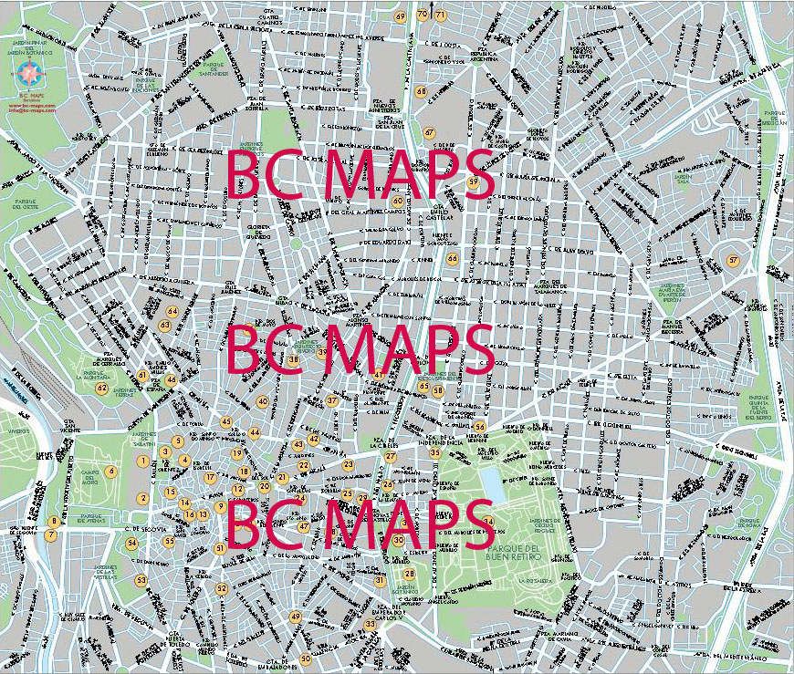 Mrida Vector city maps eps illustrator freehand Corel draw
